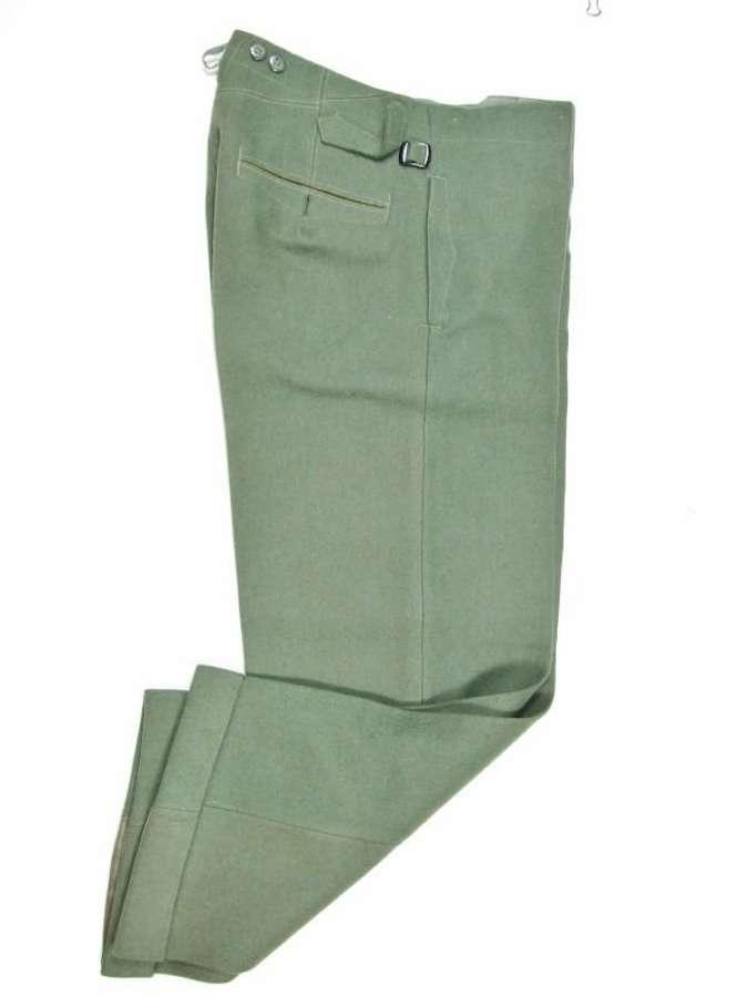 German Army Officer or NCO  Kliederkasse Trousers