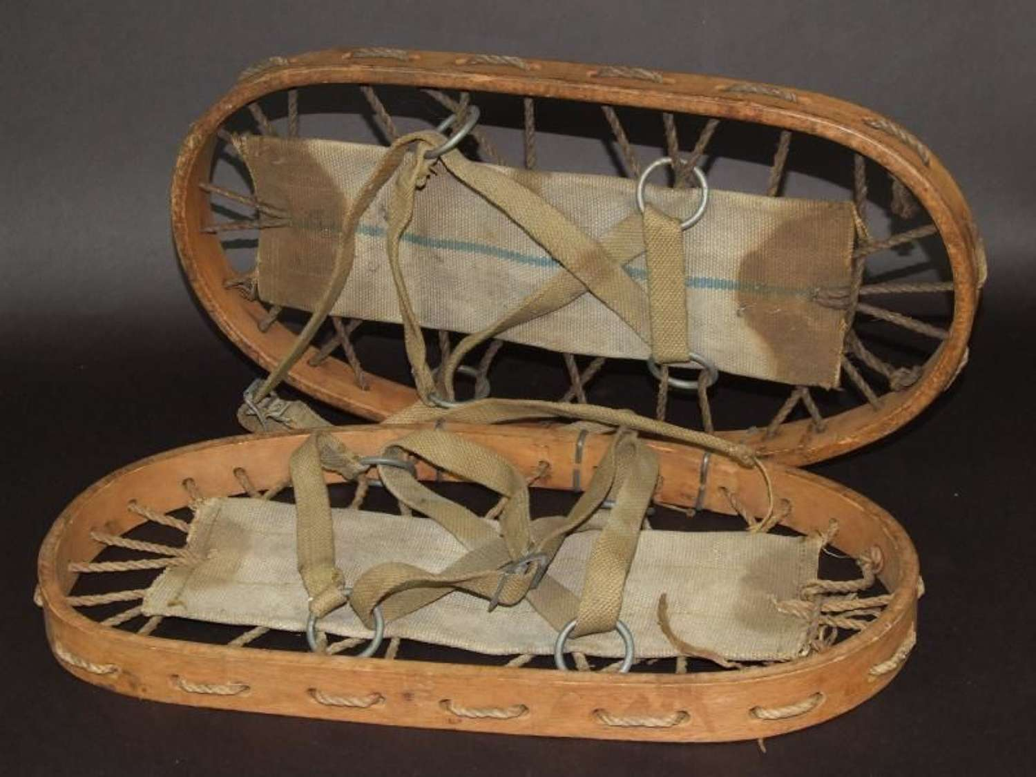 1944 Dated British Military Snow Shoes
