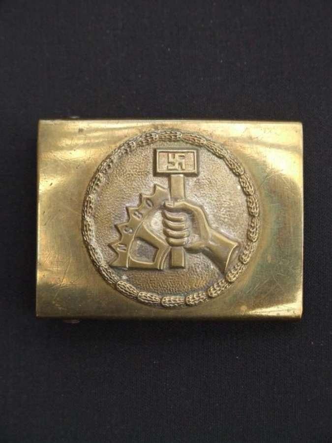NSBO (National Socialist Factory Organization) Belt Buckle.