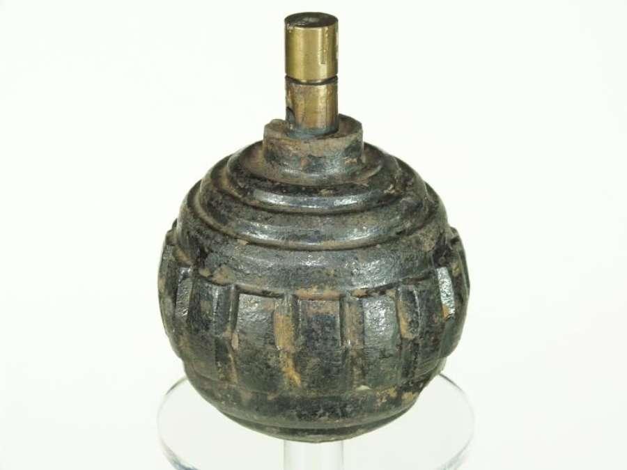 Inert Model 1915 German Kugel Hand Grenade