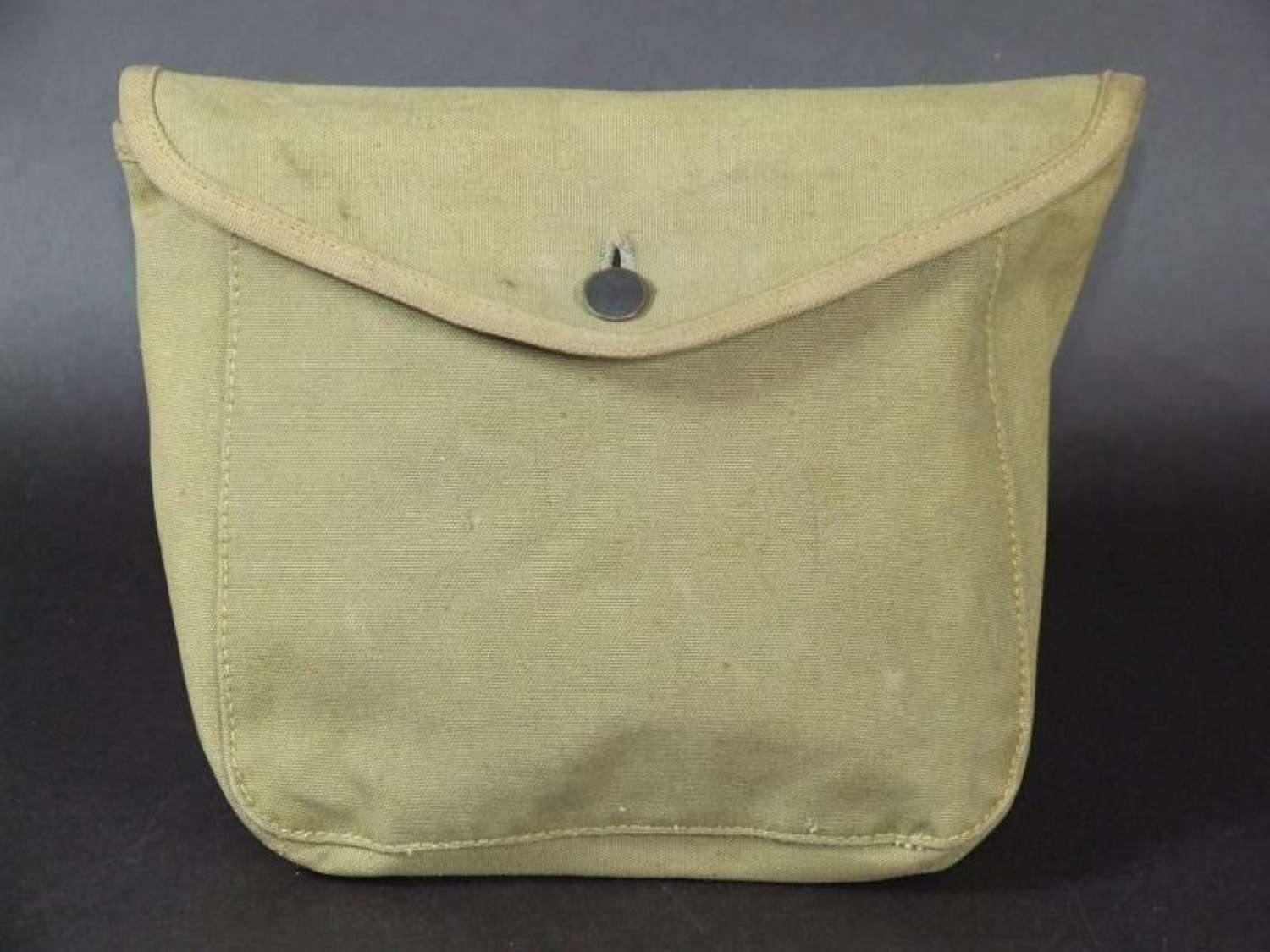 """WWI US Army Haversack """"Meat Can Pouch"""" 1917 Dated"""