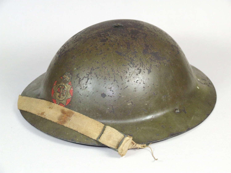 WW1 Brodie Used in WW11 by the NFS