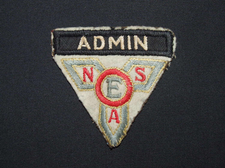 WW11 ENSA Admin Sleeve Badge