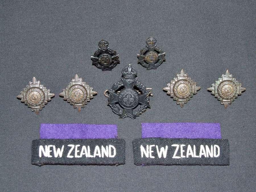 WW11 New Zealand Army Chaplain Insignia