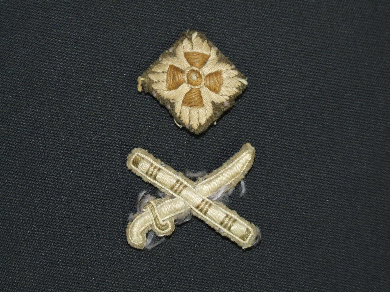 British Army Lieutenant Generals Rank Insignia
