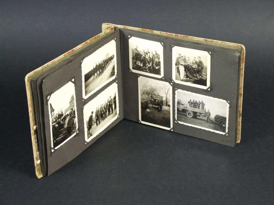 Luftwaffe Flak Gunner's Photograph Album