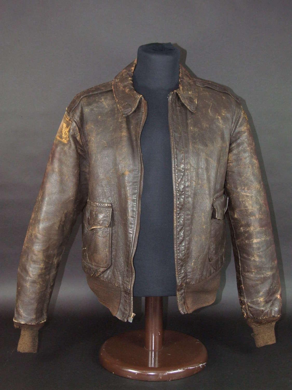 USAAF A2 Jacket. US 12th Air Force