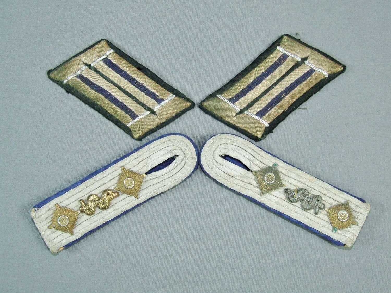 German Medical Hauptman's Insignia Set