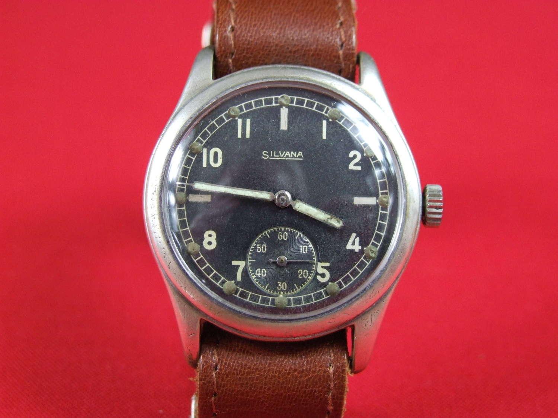 WW11 German Army Silvana Wristwatch