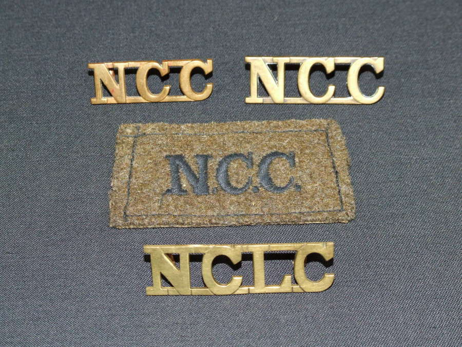 Set of Non Combatant Corps Insignia