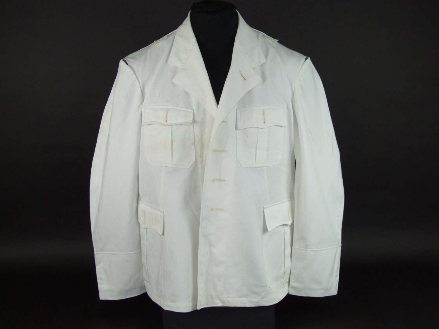 Kriegsmarine White Summer Tunic for Officers and Senior NCOs