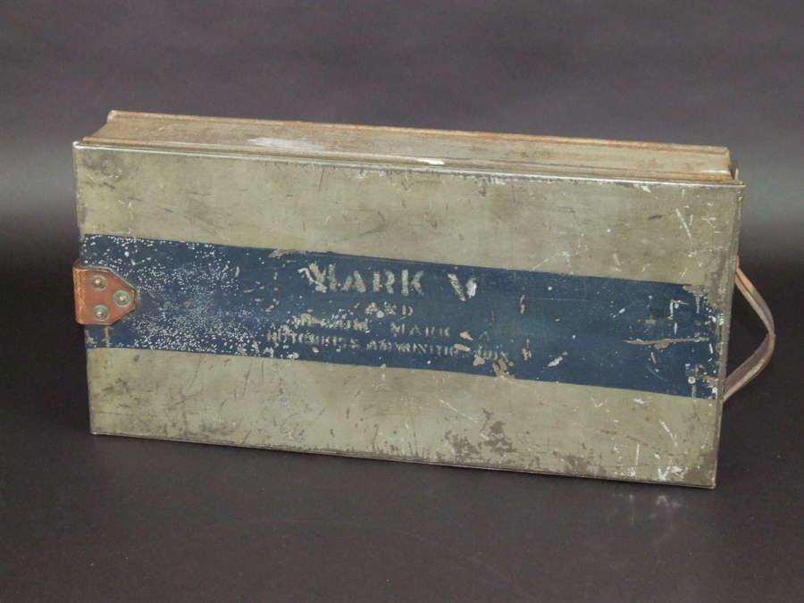 WW1 British Whippet Tank Ammunition Box