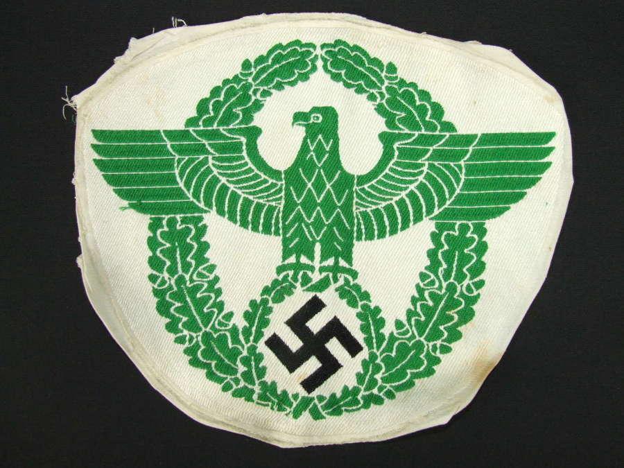 German Police Sports Vest Eagle