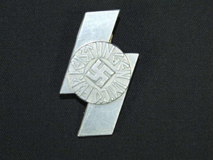 Hitler Youth Deutsches Jungvolk Sports Proficiency Badge