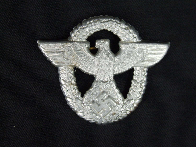 Late War German Police cap badge