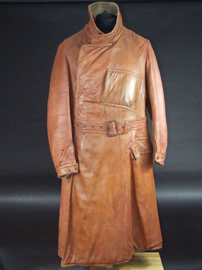 WW1 Royal Flying Corps Leather Coat