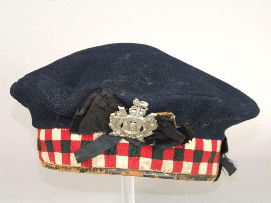 Kings Own Scottish Borderers Kilmarnock Bonnet