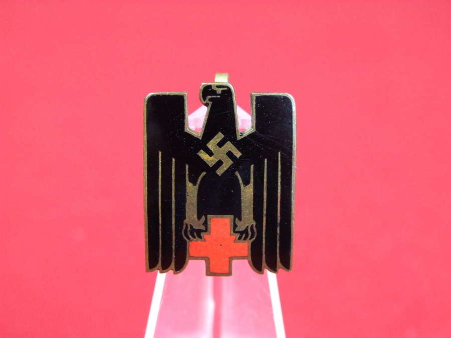 Deutsches Rotes Kreuz (German Red Cross) Visor Cap Insignia