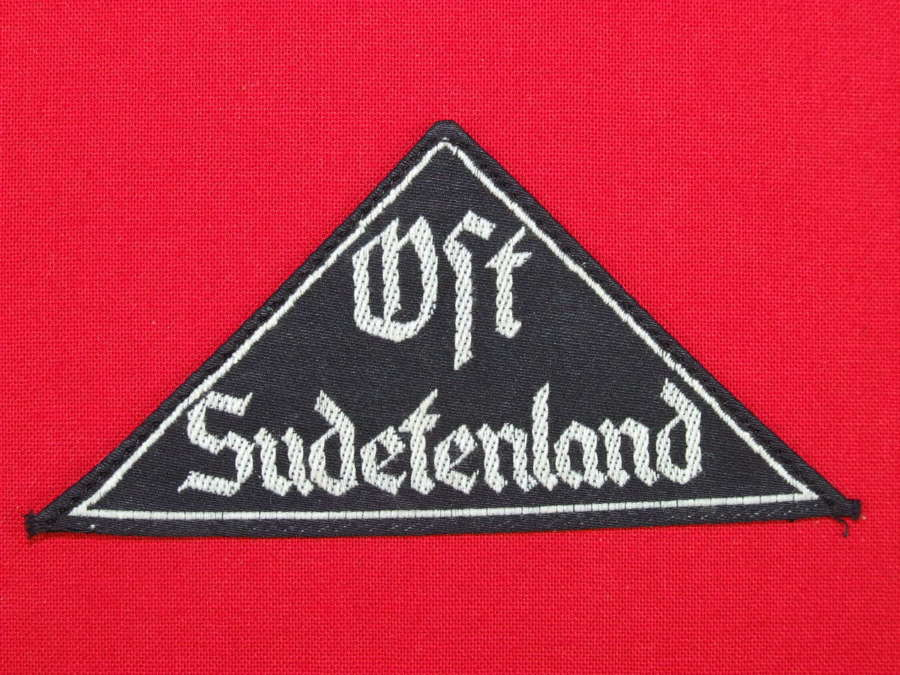 Hitler Youth Gebeit Triangle. East Sudetenland