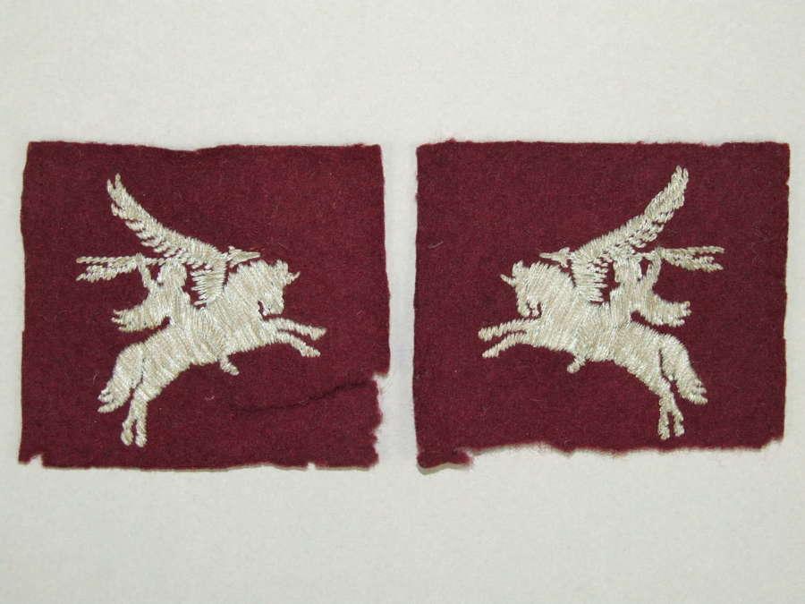 Matched Pair of British Airborne Pegasus Patches