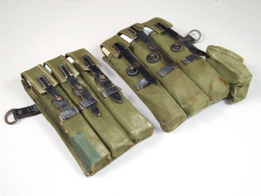 MP 38/40 Magazine Pouches. Matched Pair